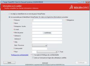 صفحة تسجيل testerPro
